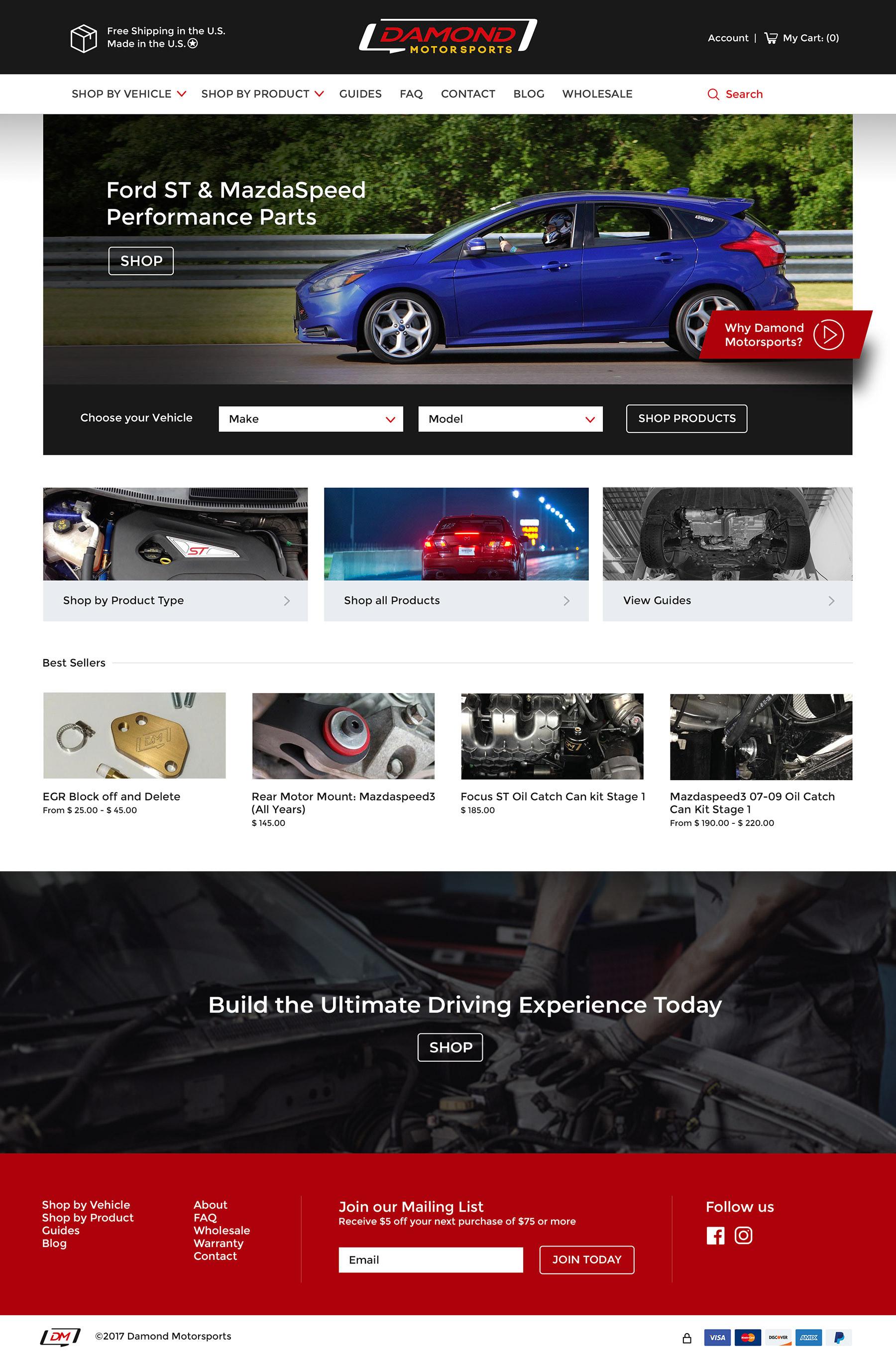 Damond Motorsports Home Page
