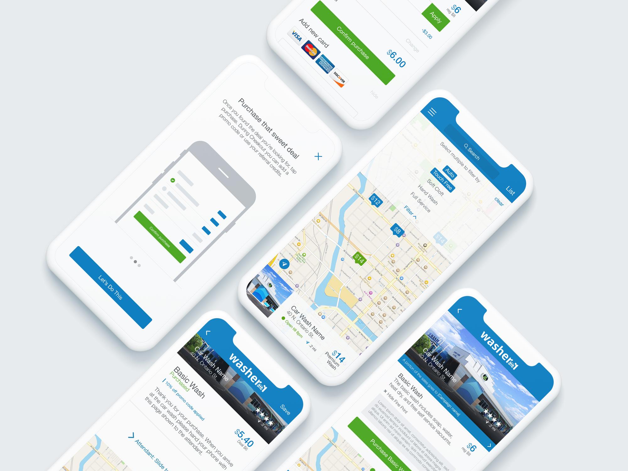 washerr app screenshots