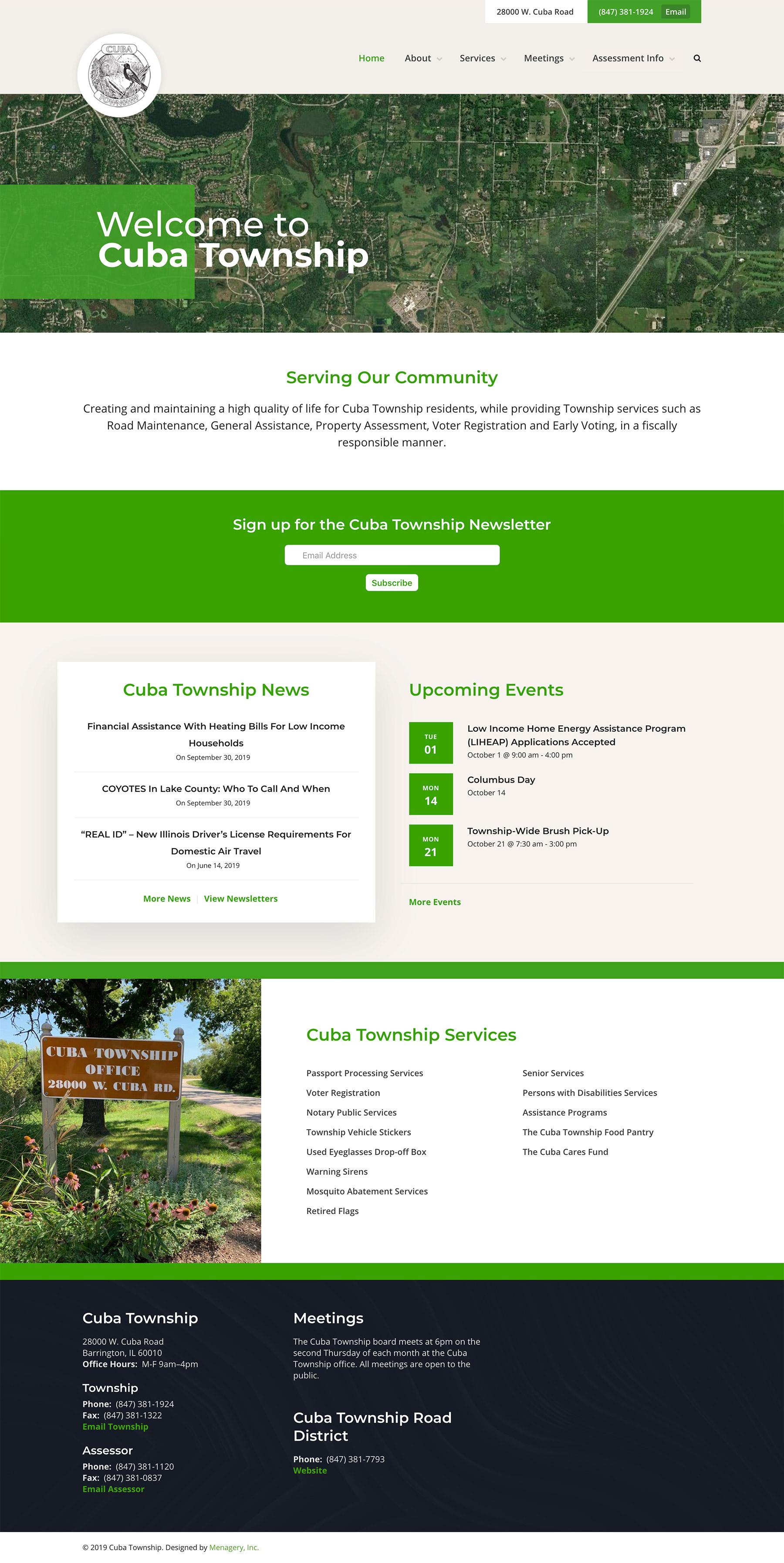 Cuba Township Homepage